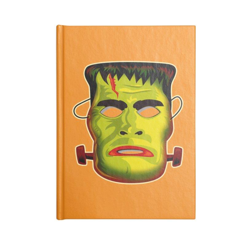 Monster Mask Accessories Notebook by Zerostreet's Artist Shop