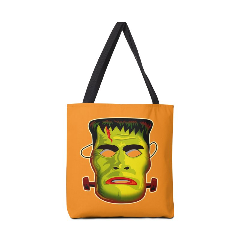 Monster Mask Accessories Bag by Zerostreet's Artist Shop