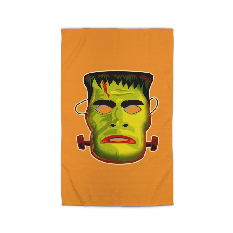 Monster Mask Home Rug by Zerostreet's Artist Shop