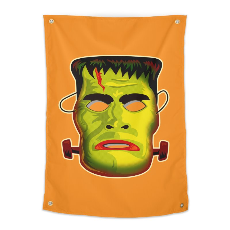 Monster Mask Home Tapestry by Zerostreet's Artist Shop
