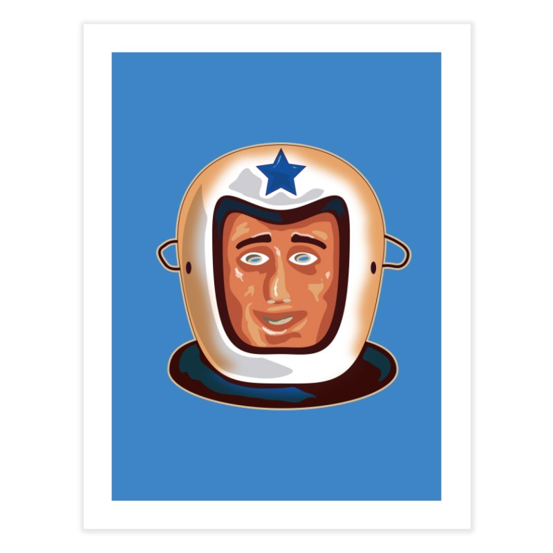 Astro Home Fine Art Print by Zerostreet's Artist Shop