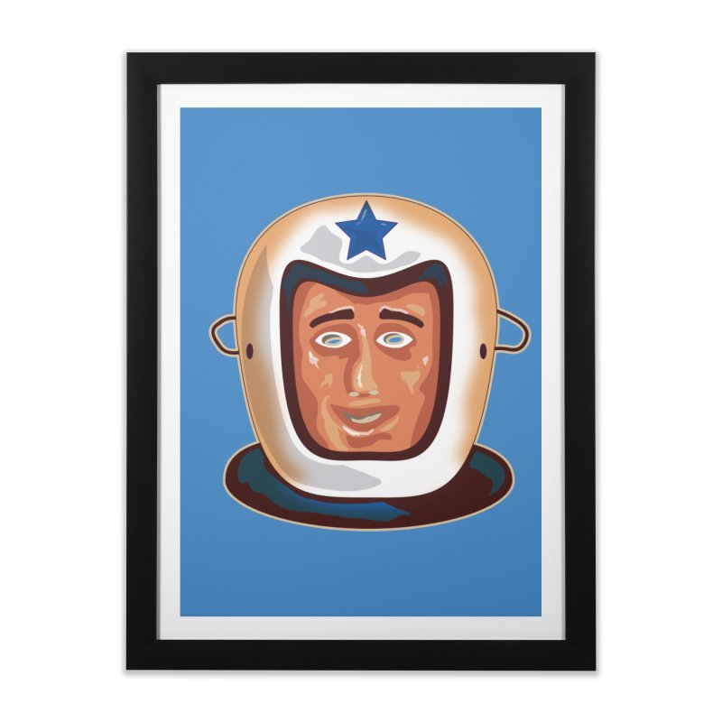 Astro Home Framed Fine Art Print by Zerostreet's Artist Shop