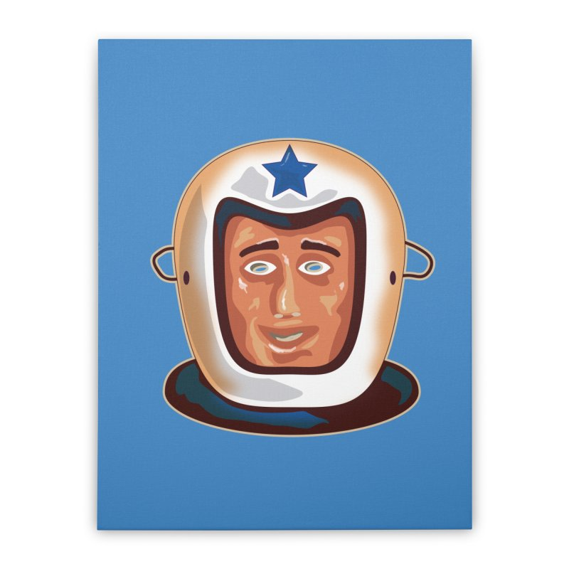 Astro Home Stretched Canvas by Zerostreet's Artist Shop