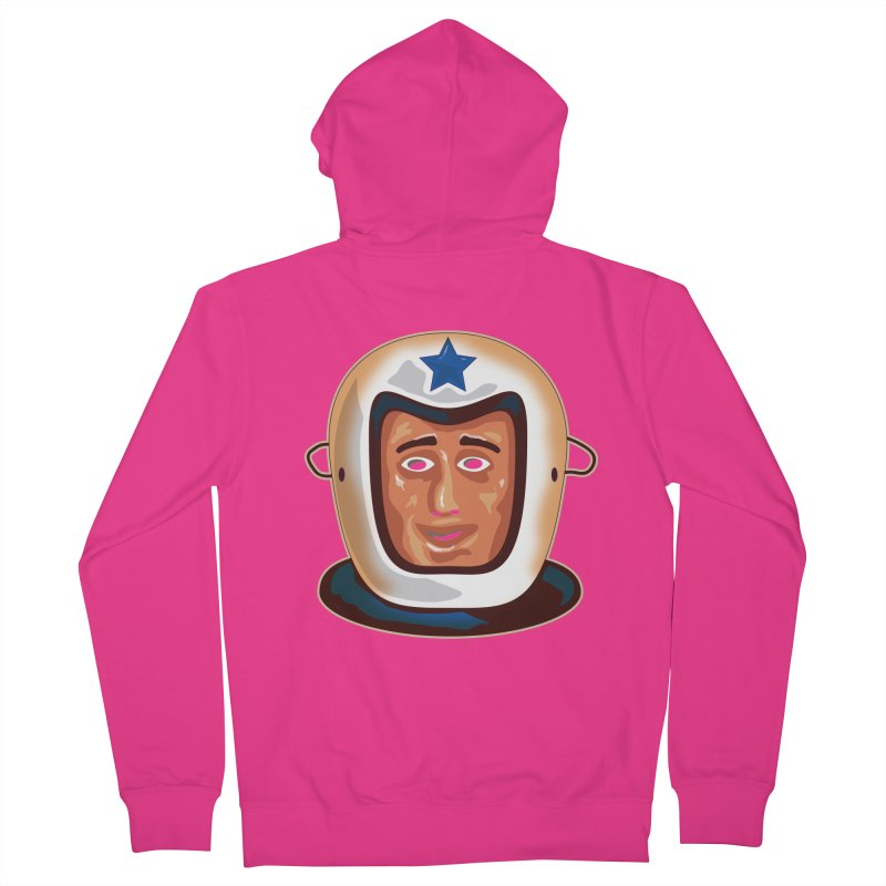 Astro Men's Zip-Up Hoody by Zerostreet's Artist Shop