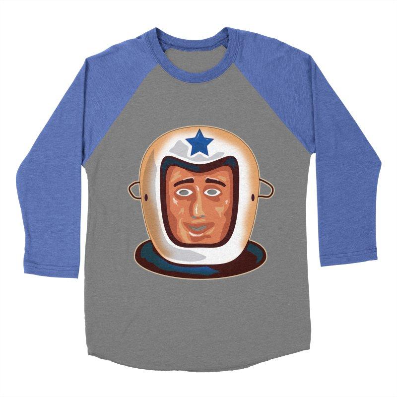 Astro Men's Baseball Triblend T-Shirt by Zerostreet's Artist Shop