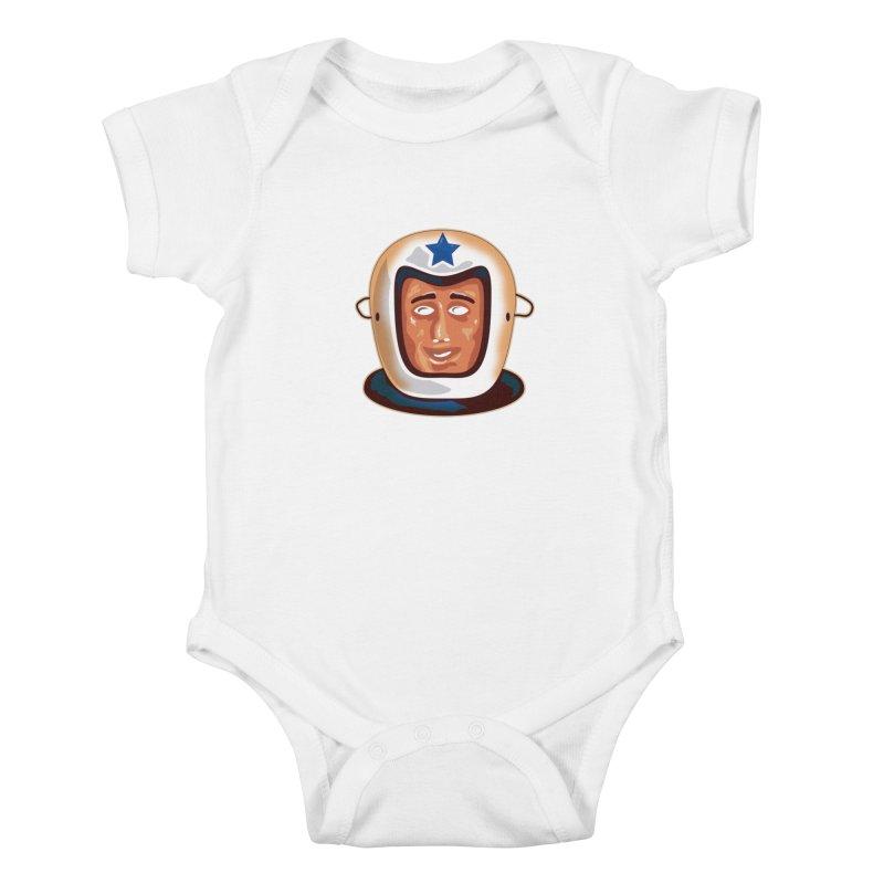 Astro Kids Baby Bodysuit by Zerostreet's Artist Shop