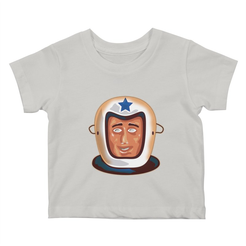 Astro Kids Baby T-Shirt by Zerostreet's Artist Shop