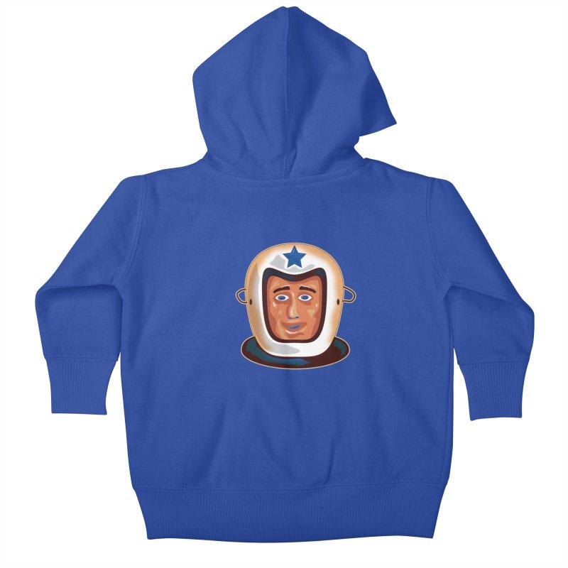 Astro Kids Baby Zip-Up Hoody by Zerostreet's Artist Shop