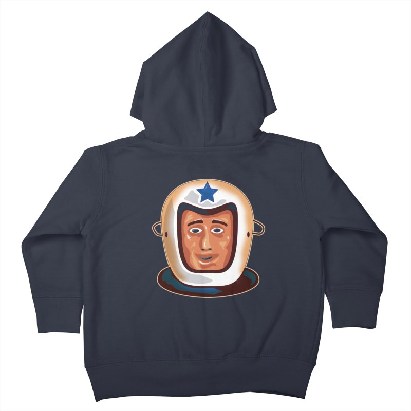Astro Kids Toddler Zip-Up Hoody by Zerostreet's Artist Shop