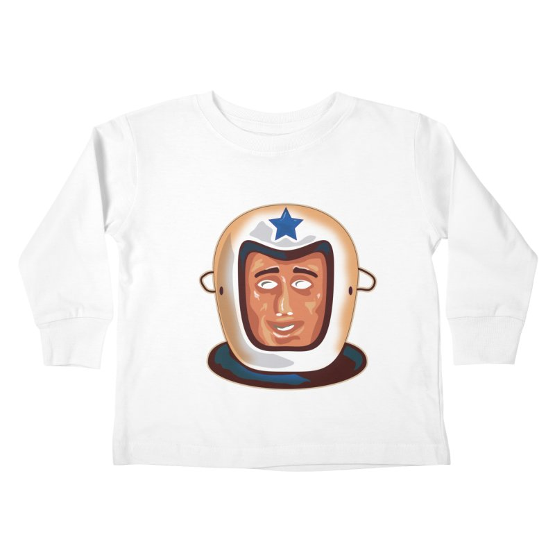 Astro Kids Toddler Longsleeve T-Shirt by Zerostreet's Artist Shop