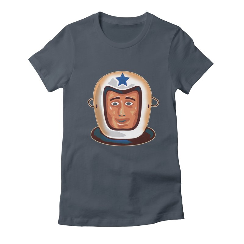 Astro Women's Fitted T-Shirt by Zerostreet's Artist Shop