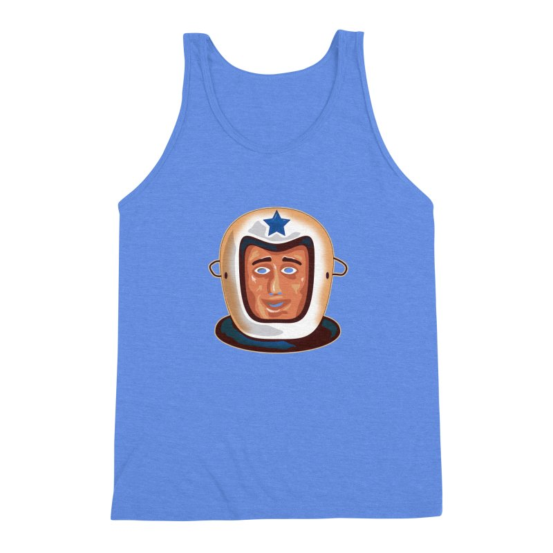 Astro Men's Triblend Tank by Zerostreet's Artist Shop