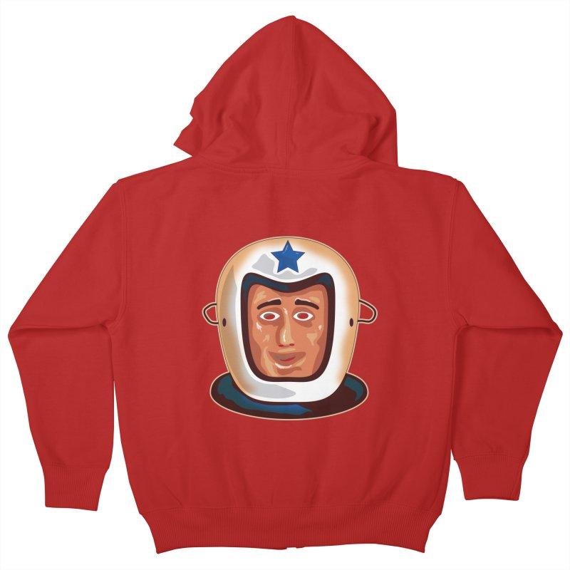 Astro Kids Zip-Up Hoody by Zerostreet's Artist Shop