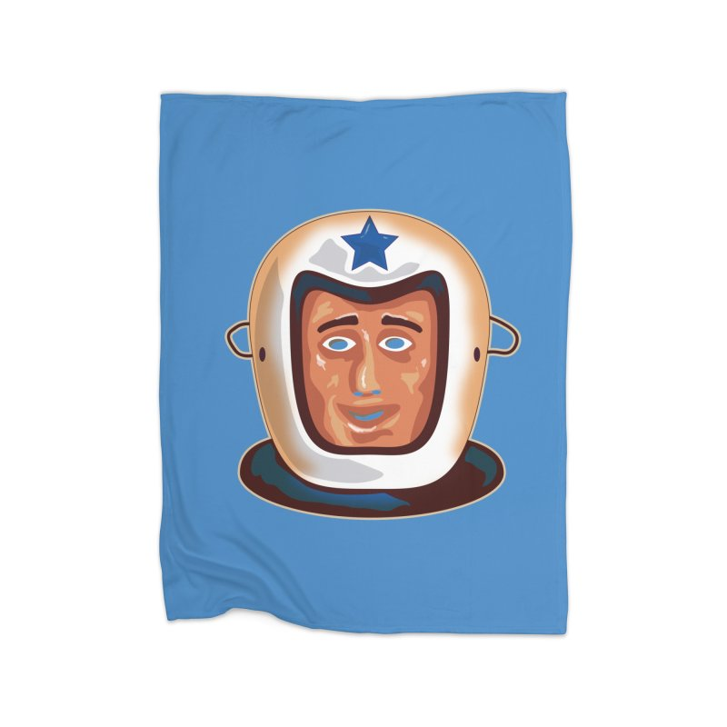 Astro Home Fleece Blanket by Zerostreet's Artist Shop
