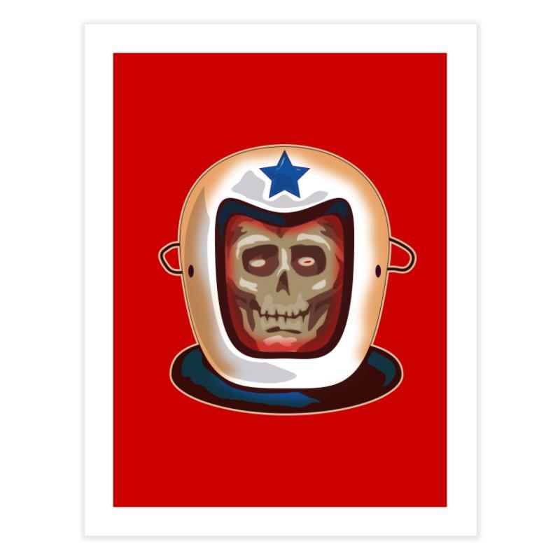 Astro Skull Home Fine Art Print by Zerostreet's Artist Shop