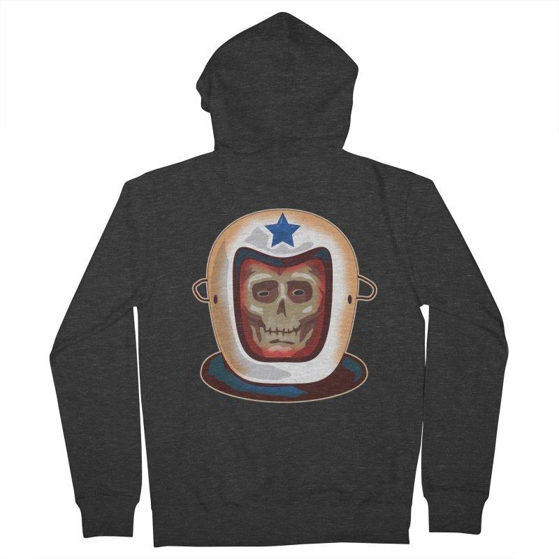 Astro Skull Women's Zip-Up Hoody by Zerostreet's Artist Shop