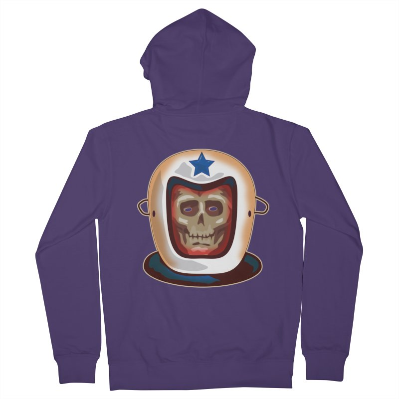 Astro Skull Women's Zip-Up Hoody by Zerostreet's Artist Shop