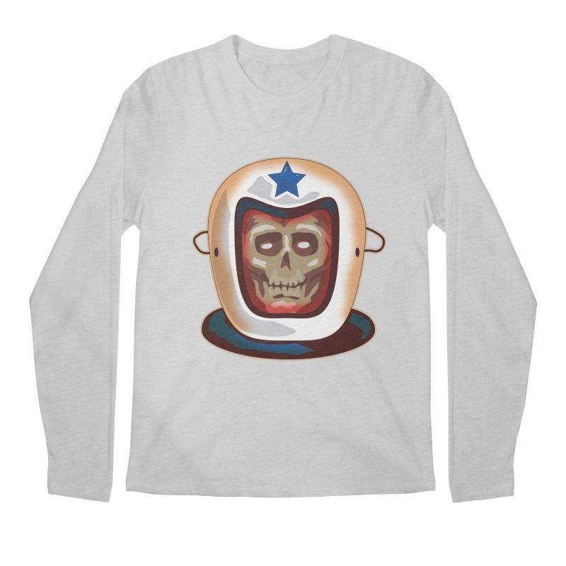 Astro Skull Men's Longsleeve T-Shirt by Zerostreet's Artist Shop