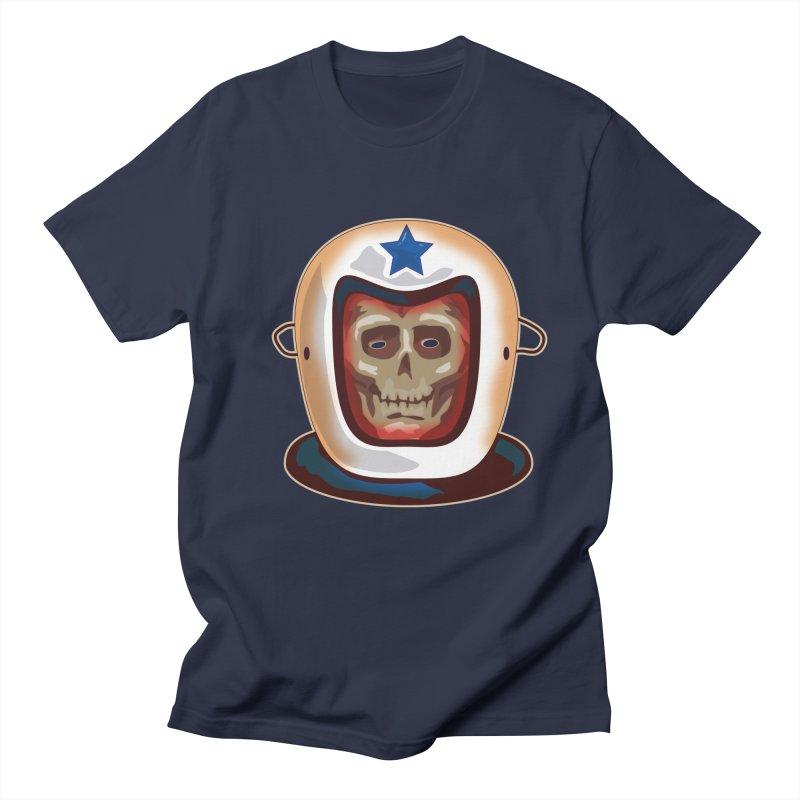 Astro Skull Men's T-shirt by Zerostreet's Artist Shop