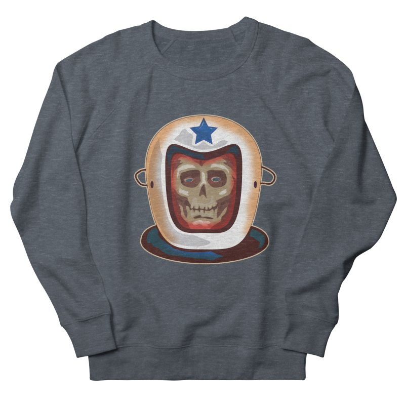 Astro Skull Men's Sweatshirt by Zerostreet's Artist Shop