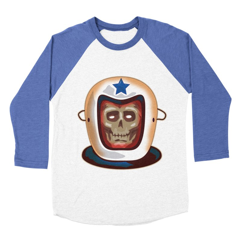 Astro Skull Women's Baseball Triblend T-Shirt by Zerostreet's Artist Shop