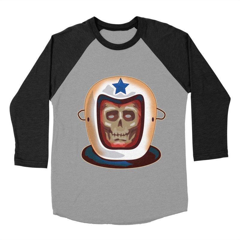 Astro Skull Women's Baseball Triblend T-Shirt by Zerostreet's Artist Shop
