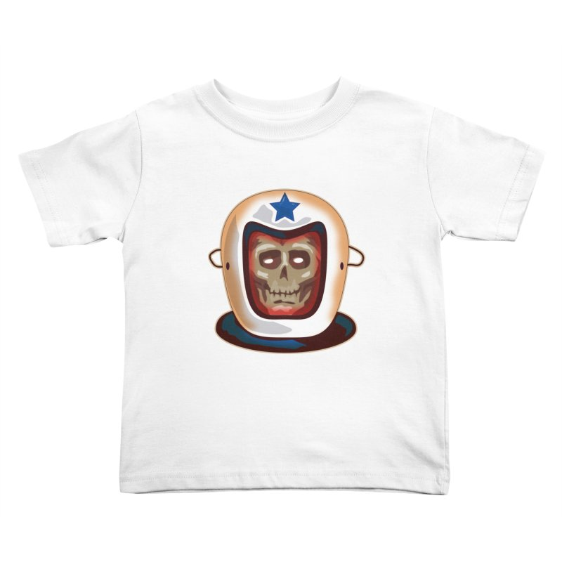Astro Skull Kids Toddler T-Shirt by Zerostreet's Artist Shop