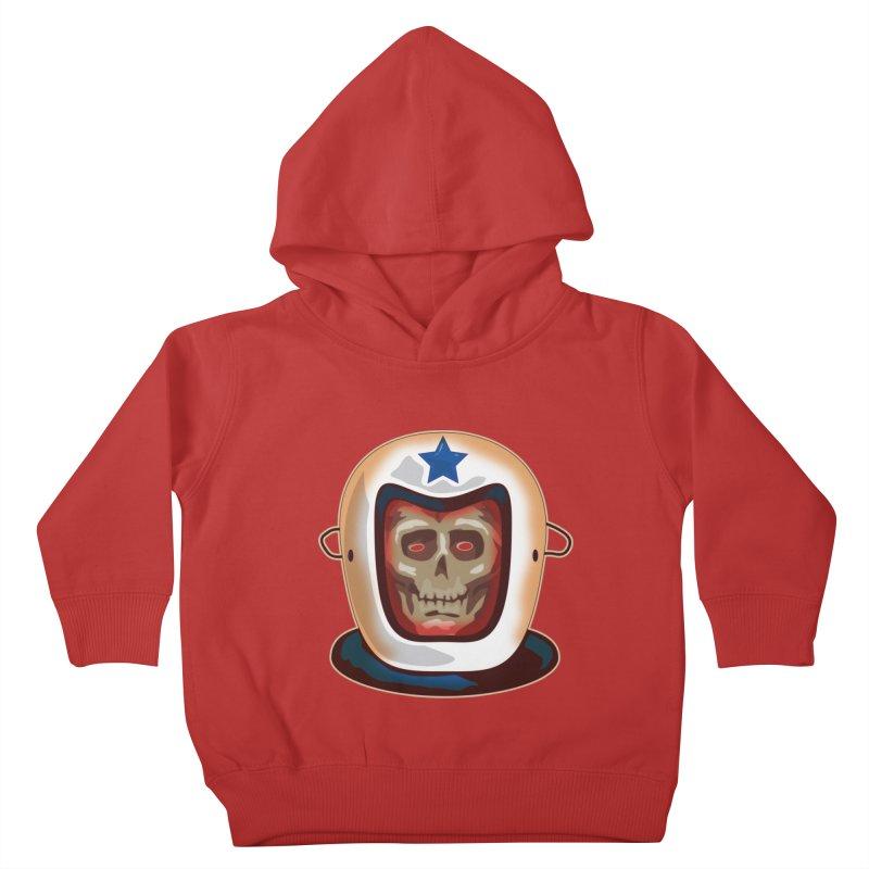 Astro Skull Kids Toddler Pullover Hoody by Zerostreet's Artist Shop