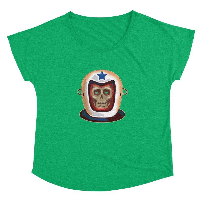 Astro Skull Women's Dolman by Zerostreet's Artist Shop