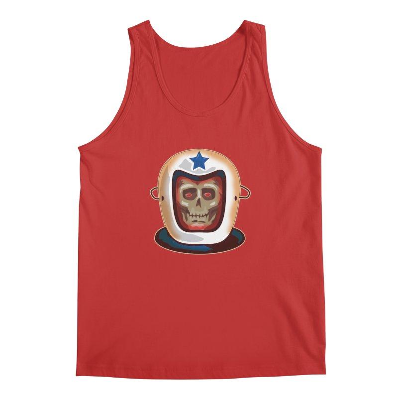 Astro Skull Men's Tank by Zerostreet's Artist Shop