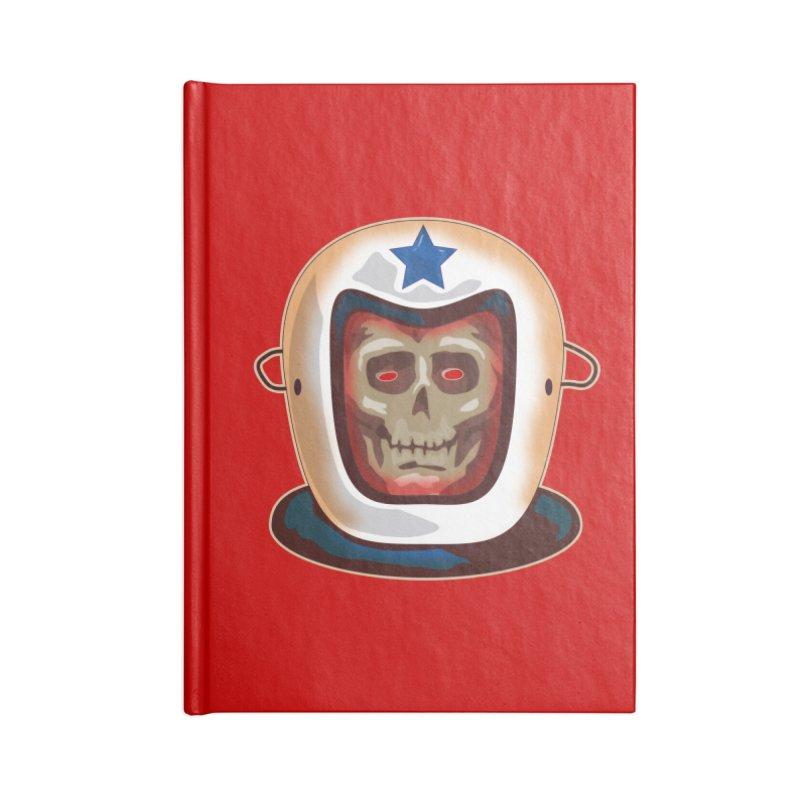 Astro Skull Accessories Notebook by Zerostreet's Artist Shop