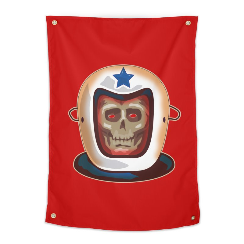 Astro Skull Home Tapestry by Zerostreet's Artist Shop