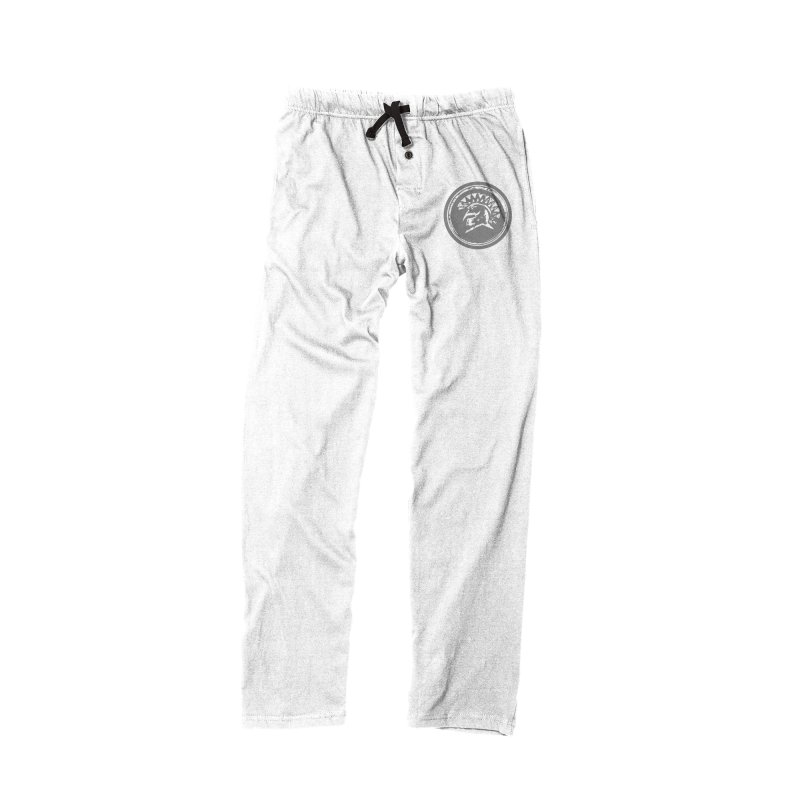Zeus Lounge Pants Grey Logo in Men's Lounge Pants Bottoms Black by Zeus Community Store