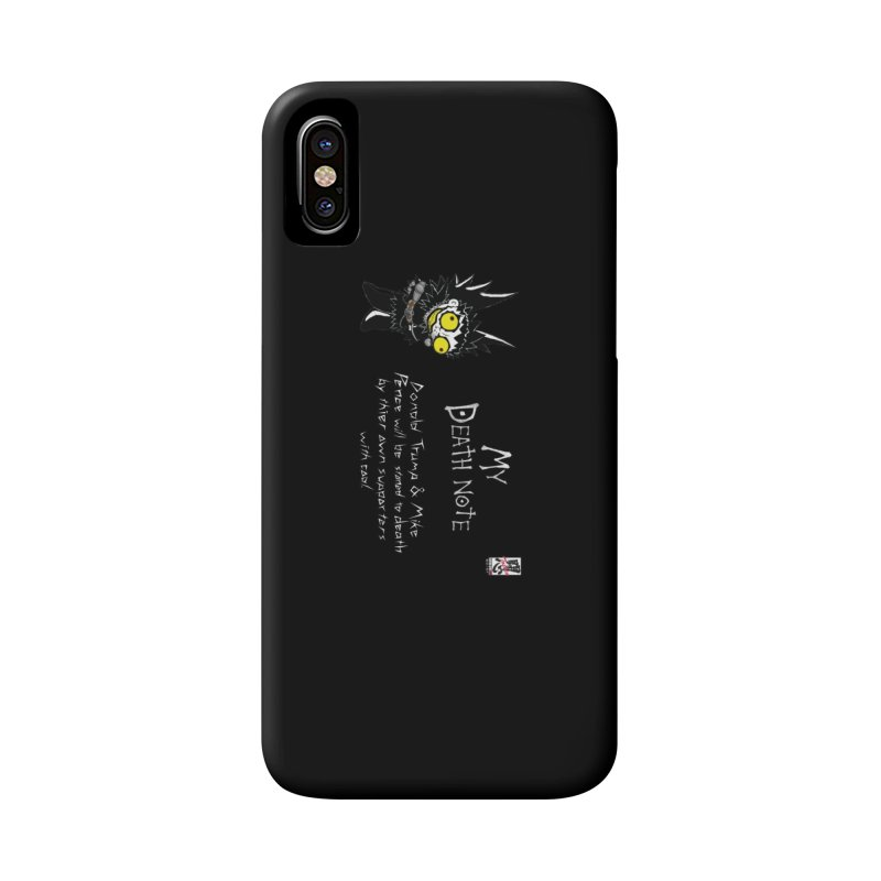 Deathnote for Trump and Pence Accessories Phone Case by zhephskyre's Artist Shop
