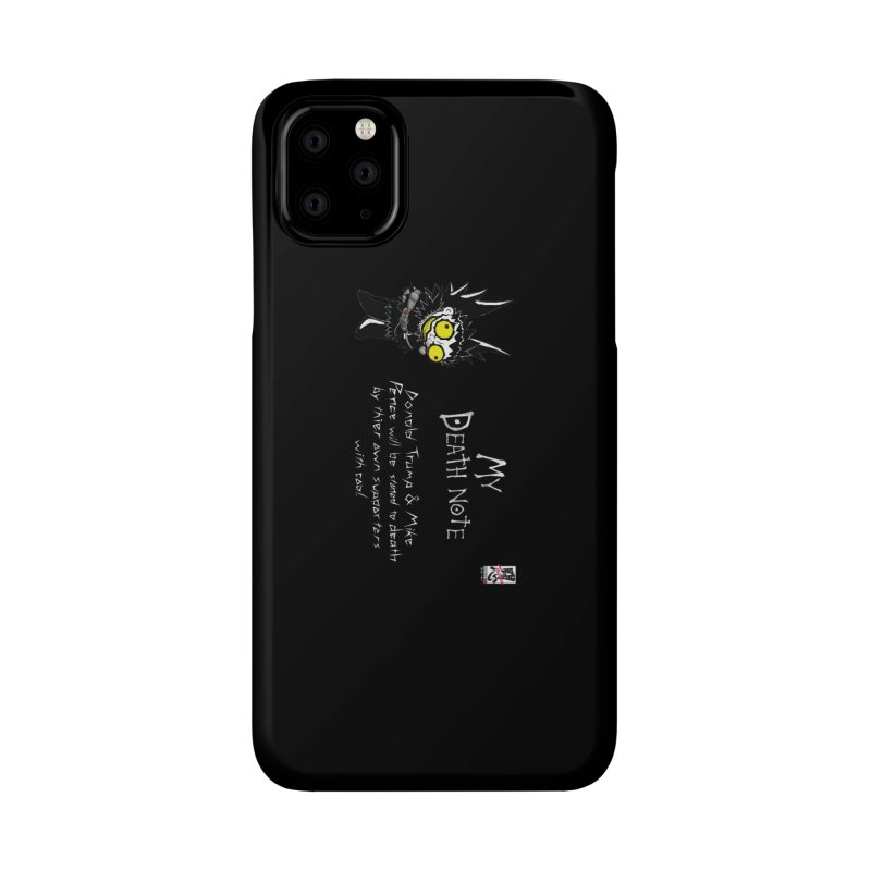 Deathnote for Trump and Pence Accessories Phone Case by Zheph Skyre