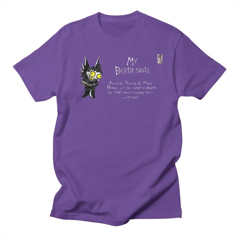 Deathnote for Trump and Pence Women's Regular Unisex T-Shirt by zhephskyre's Artist Shop