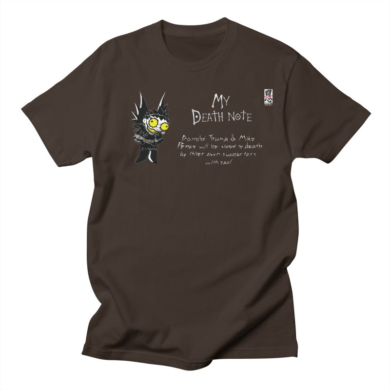 Deathnote for Trump and Pence Men's T-Shirt by Zheph Skyre