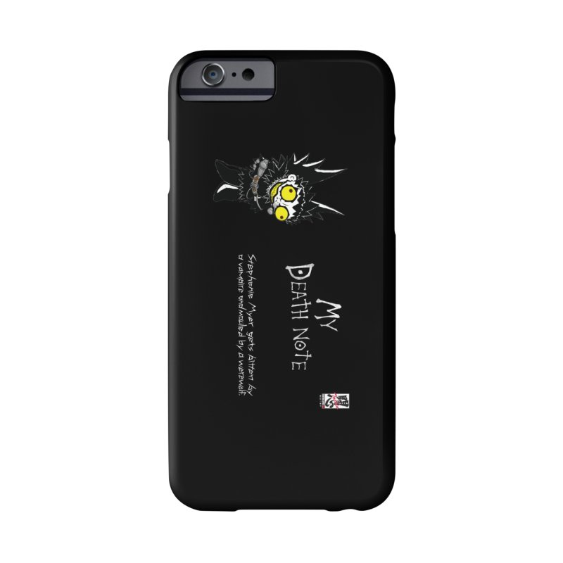 Stephanie Myer Deathnote Accessories Phone Case by Zheph Skyre