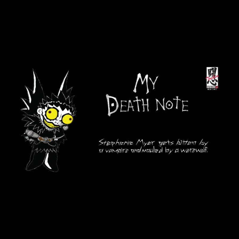 Stephanie Myer Deathnote Men's T-Shirt by Zheph Skyre