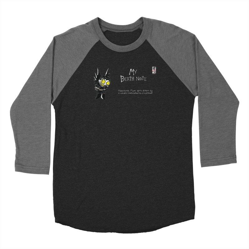 Stephanie Myer Deathnote Men's Baseball Triblend Longsleeve T-Shirt by Zheph Skyre