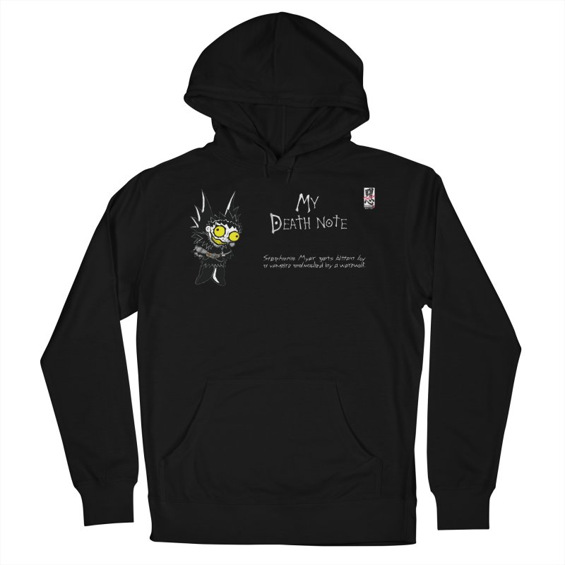Stephanie Myer Deathnote Women's French Terry Pullover Hoody by zhephskyre's Artist Shop