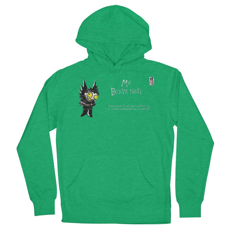 Stephanie Myer Deathnote Men's French Terry Pullover Hoody by Zheph Skyre