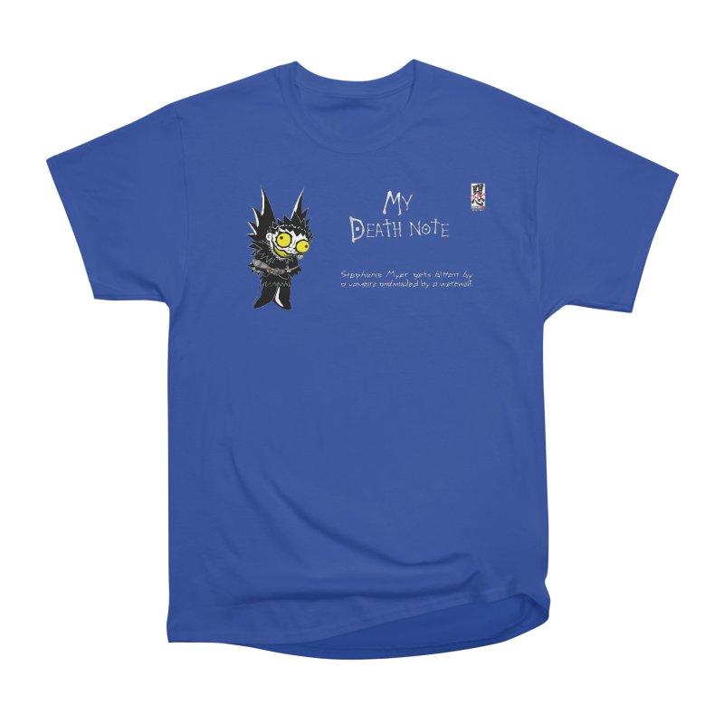 Stephanie Myer Deathnote Men's T-Shirt by Zheph Skyre