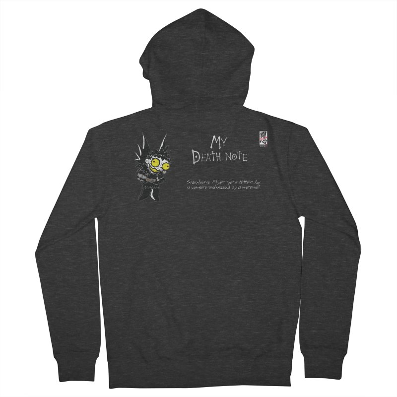 Stephanie Myer Deathnote Men's Zip-Up Hoody by zhephskyre's Artist Shop