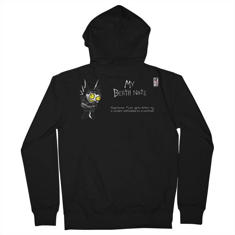 Stephanie Myer Deathnote Men's French Terry Zip-Up Hoody by Zheph Skyre
