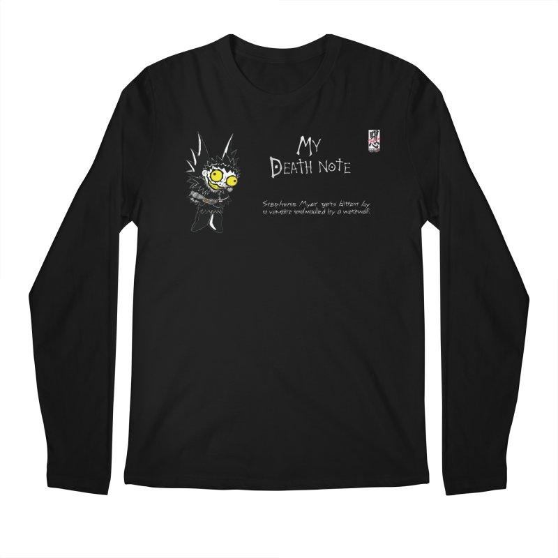 Stephanie Myer Deathnote Men's Regular Longsleeve T-Shirt by zhephskyre's Artist Shop