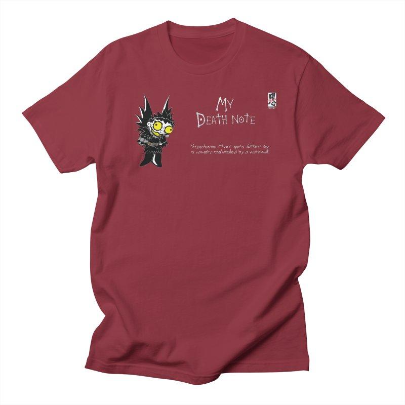 Stephanie Myer Deathnote Women's Regular Unisex T-Shirt by Zheph Skyre
