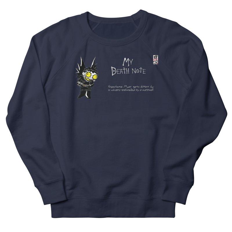 Stephanie Myer Deathnote Women's French Terry Sweatshirt by zhephskyre's Artist Shop