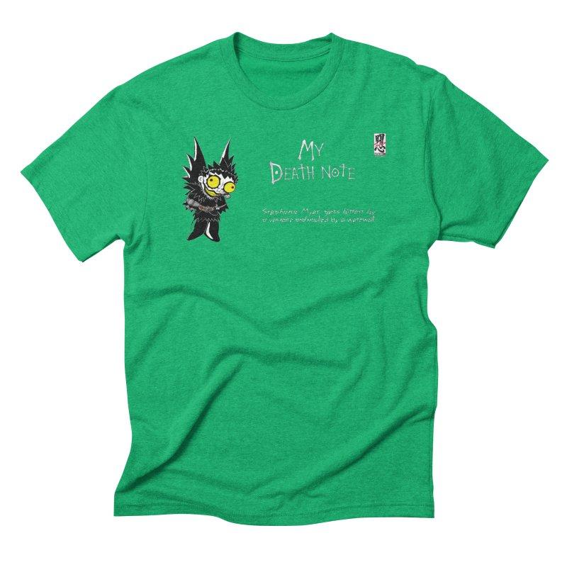 Stephanie Myer Deathnote Men's Triblend T-Shirt by Zheph Skyre