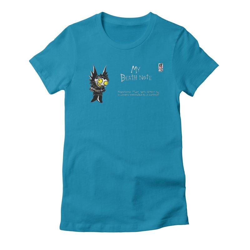 Stephanie Myer Deathnote Women's T-Shirt by Zheph Skyre